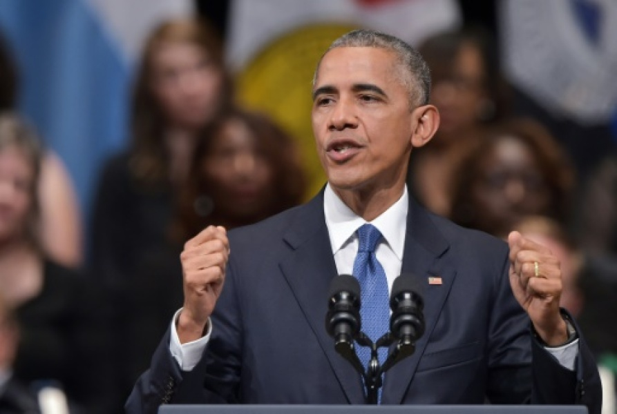 Barack Obama le 12 juillet 2016 à Dallas