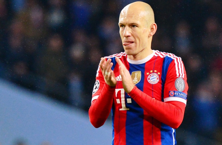 Bayern : Robben out 6 à 8 semaines