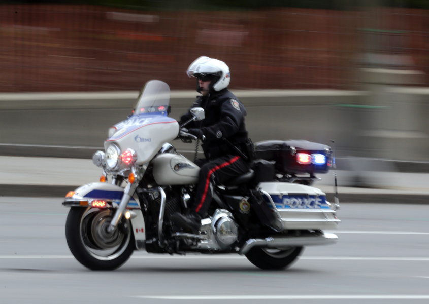 Un policier canadien à Ottawa, en octobre 2014 (PHOTO D'ILLUSTRATION).