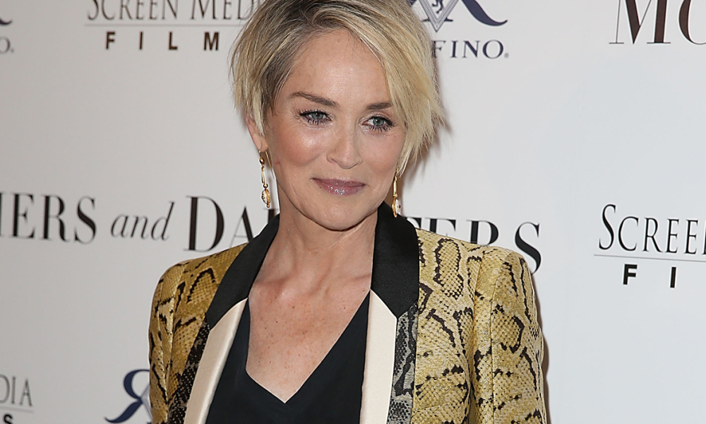Sharon Stone le 28/ avril 2016