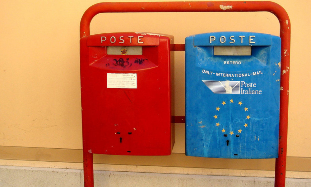 Poste italienne. (Illustration)
