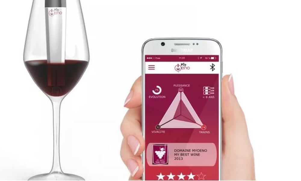 Le scanner mis au point par la start-up iséroise analyse du vin rouge uniquement, pour l'instant.