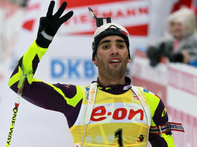 Ostersund : M.Fourcade remporte le sprint