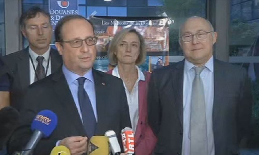 François Hollande le 18 octobre 2015