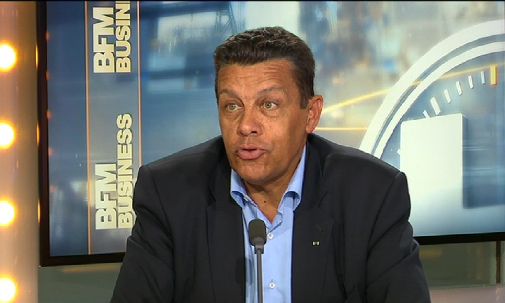 Xavier Beulin était l'invité de BFM Business