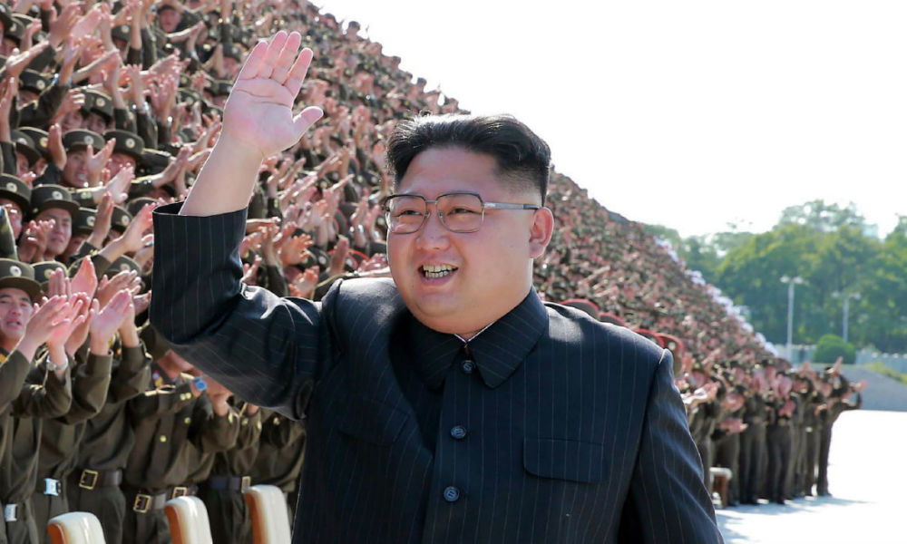 Kim Jong-un, le leader nord-coréen - STR-KCNA via KNS-AFP Commenter 0