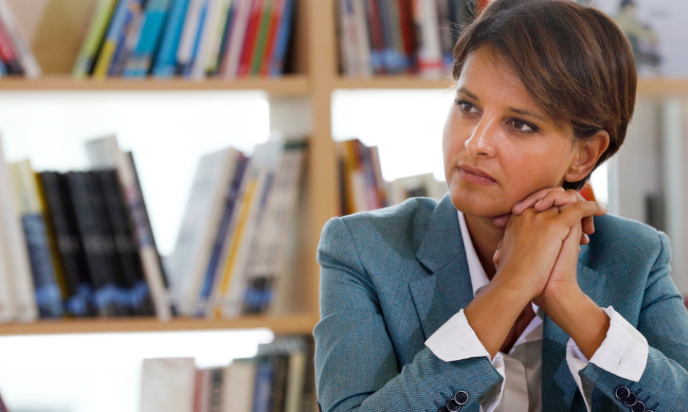 a ministre de l'Education nationale Najat Vallaud-Belkacem