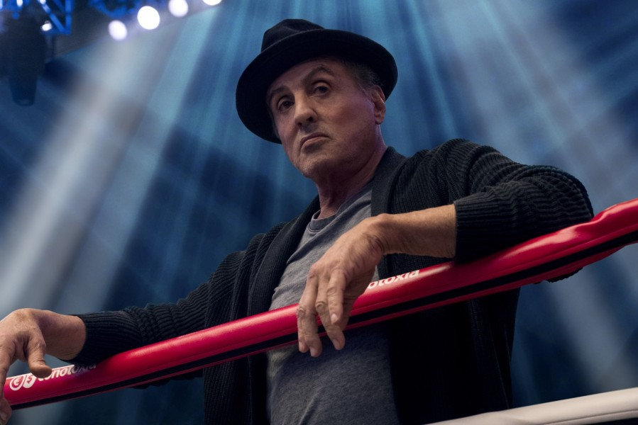 Sylvester Stallone dans Creed II