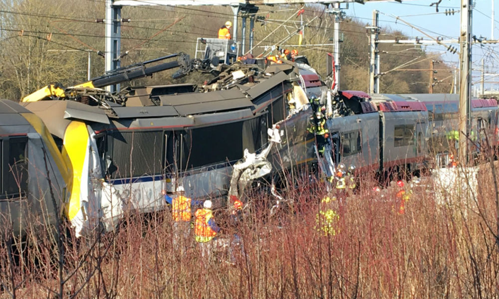 L'accident de train au Luxembourg le 14 février 2017
