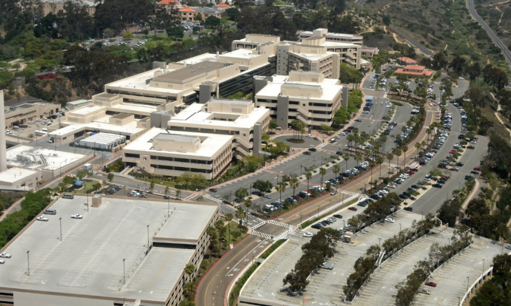 Le Naval Medical Center à San Diego.