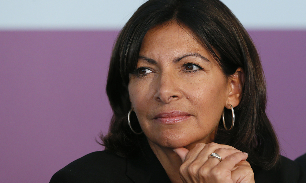 Anne Hidalgo le 9 septembre 2015 à Paris.