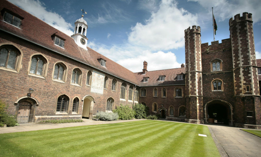 L'université de Cambridge, en Angleterre
