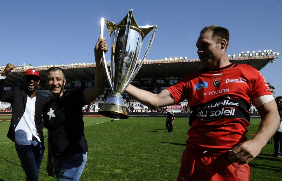 Toulon : La Coupe d'Europe célébrée à Mayol