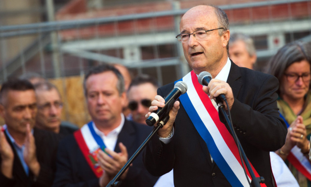 Jacques Bompard, le maire d'Orange (photo d'illustration)