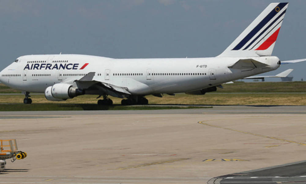 Un boeing 747 de la compagnie Air France. (Photo d'illustration)