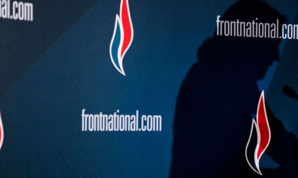 Logo du Front national. (Illustration)