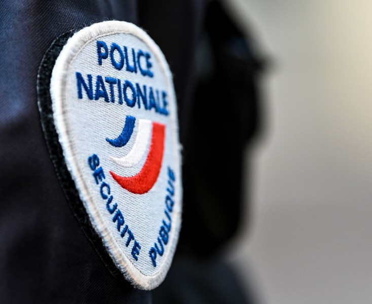 L'écusson de la police nationale en décembre 2019. (Photo d'illustration).