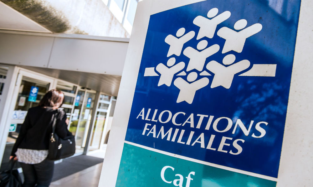 La Caisse d'allocations familiales de Calais, en avril 2015 (photo d'illustration)
