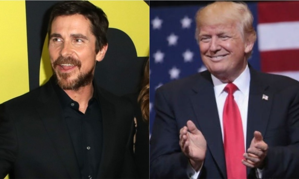 Christian Bale et Donald Trump