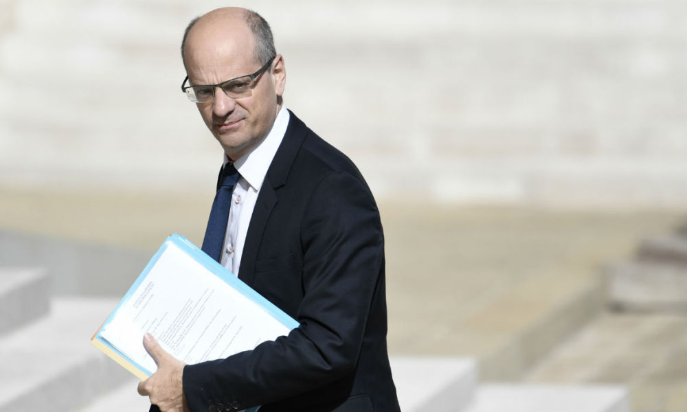 Jean-Michel Blanquer, le ministre de l'Éducation nationale