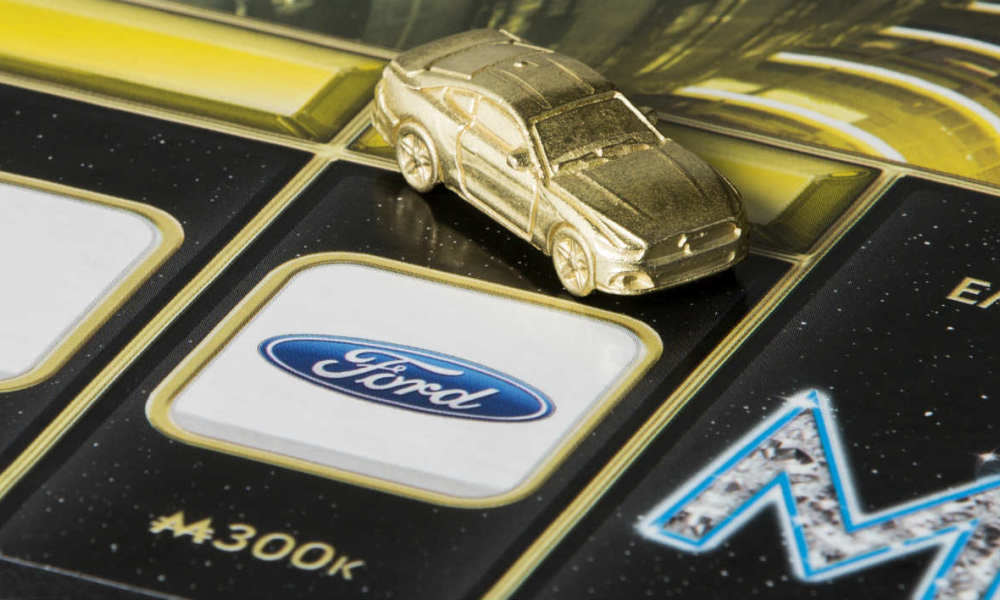 Nouvelle Ford Mustang Monopoly Empire