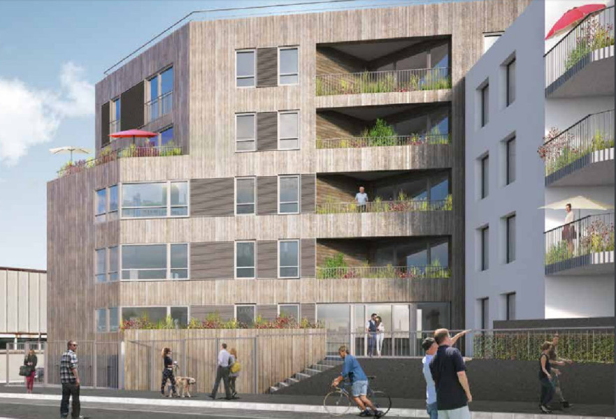 Immeuble passif Montreuil