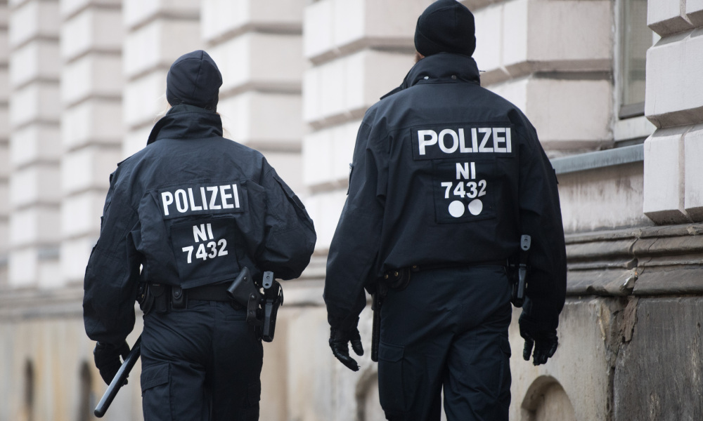 Des policiers allemands. (photo d'illustration)