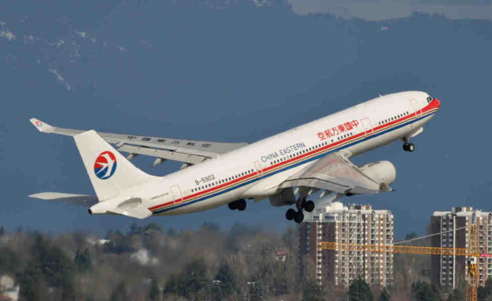Atterrissage d'urgence d'un vol de China Eastern en Australie