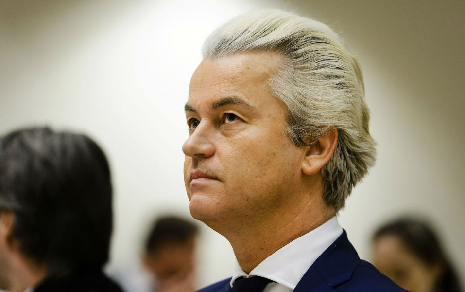 Le député néerlandais anti-islam Geert Wilders est reconnu coupable de discrimination. (Photo d'illustration)