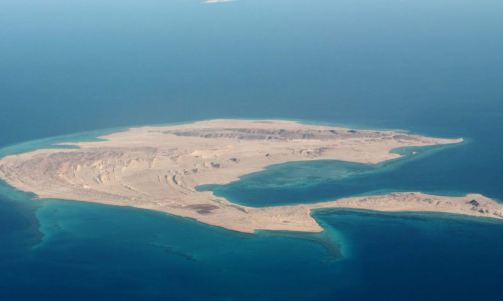 L'île de Sanafir (ici en photo), et celle de Tiran sont à l'origine d'un imbroglio entre l'Egypte et l'Arabie saoudite. (Photo d'illustration)