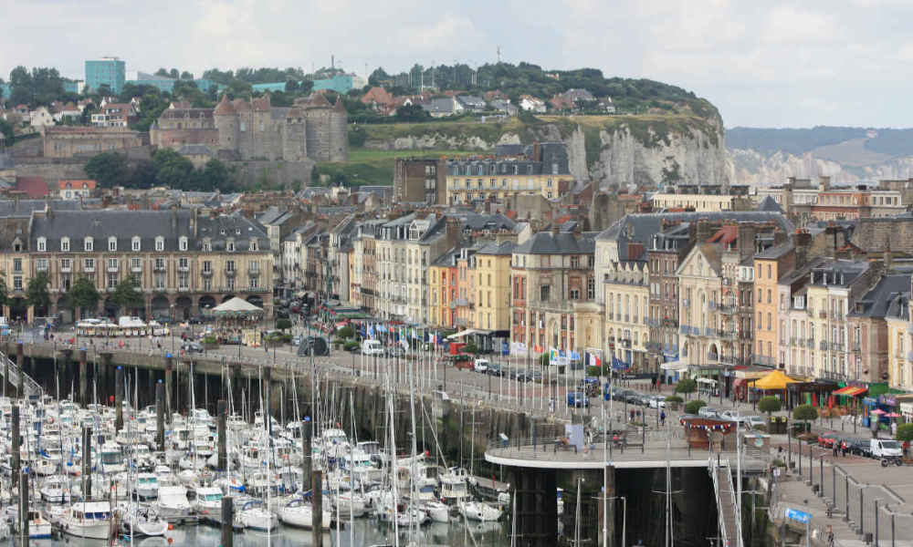 Le port de Dieppe (photo d'illustration).