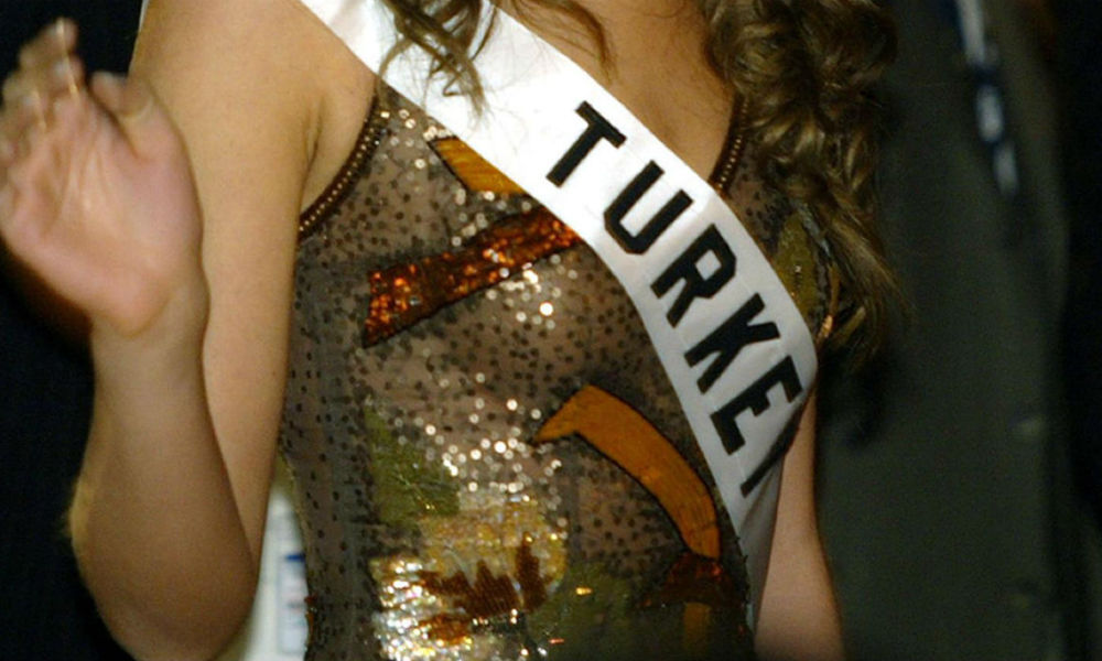 Election de Miss Turquie (illustration)