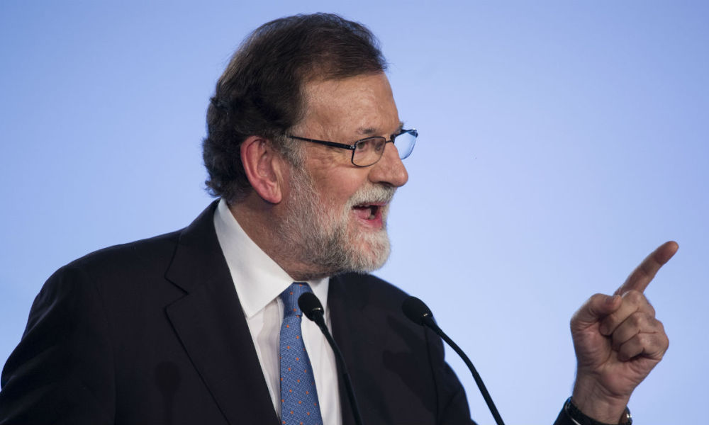 Rajoy n'écarte pas la suspension de l'autonomie — Catalogne