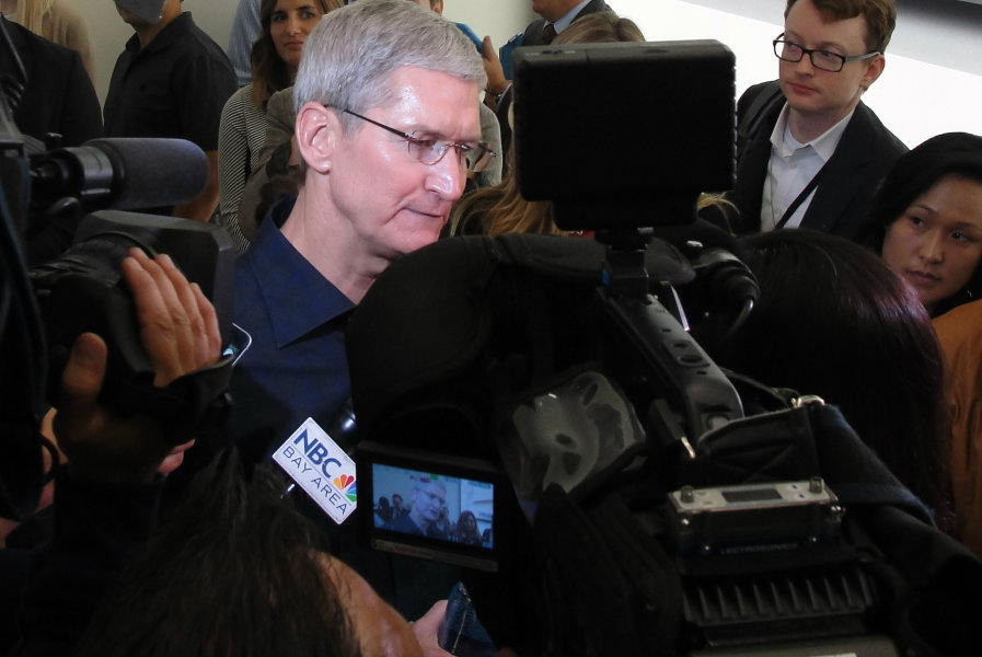 Le patron d'Apple Tim Cook