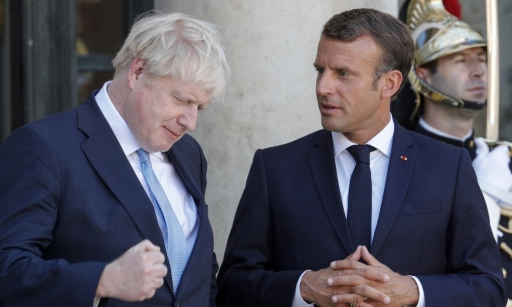 Boris Johnson et Emmanuel Macron