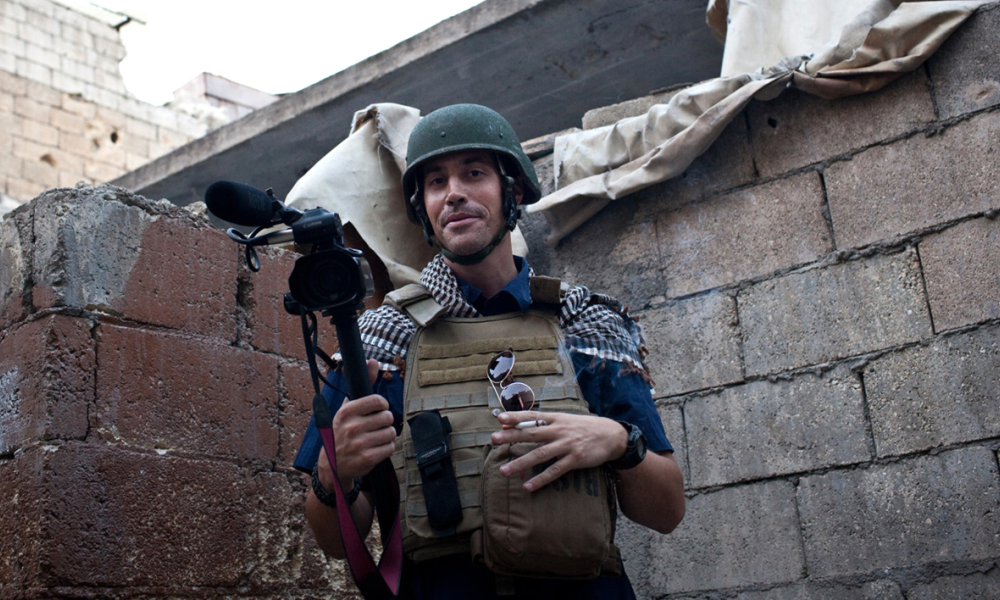 James Foley, un journaliste américain, a été assassiné par Daesh en 2014.