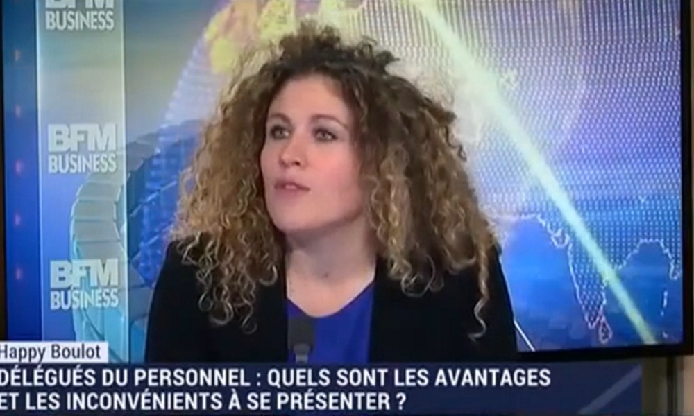 Laure Closier dans Happy Boulot