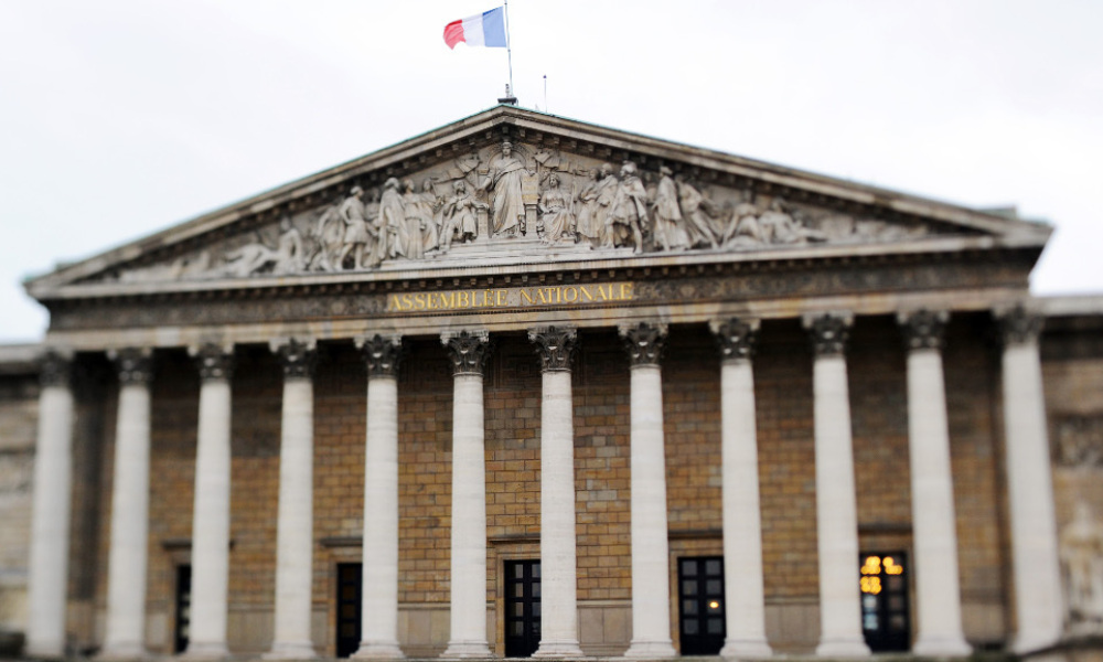 L'Assemblée nationale, image d'illustration