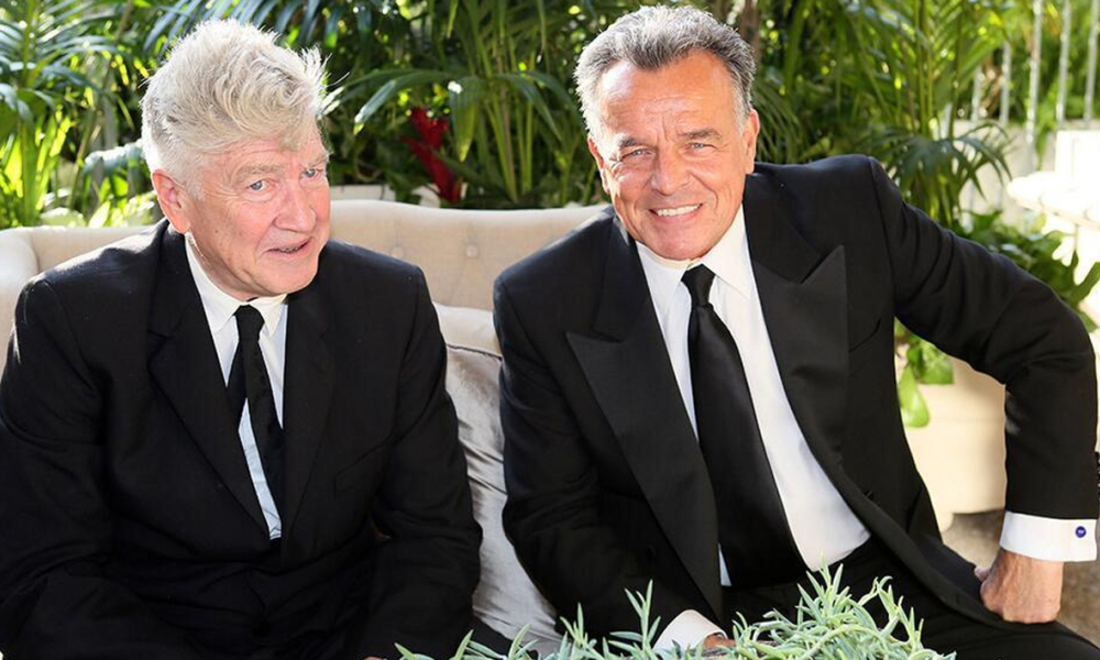 David Lynch et l'acteur Ray Wise.