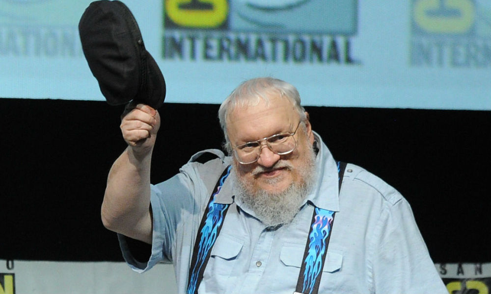 Le nouveau George RR Martin is coming — Game of Thrones