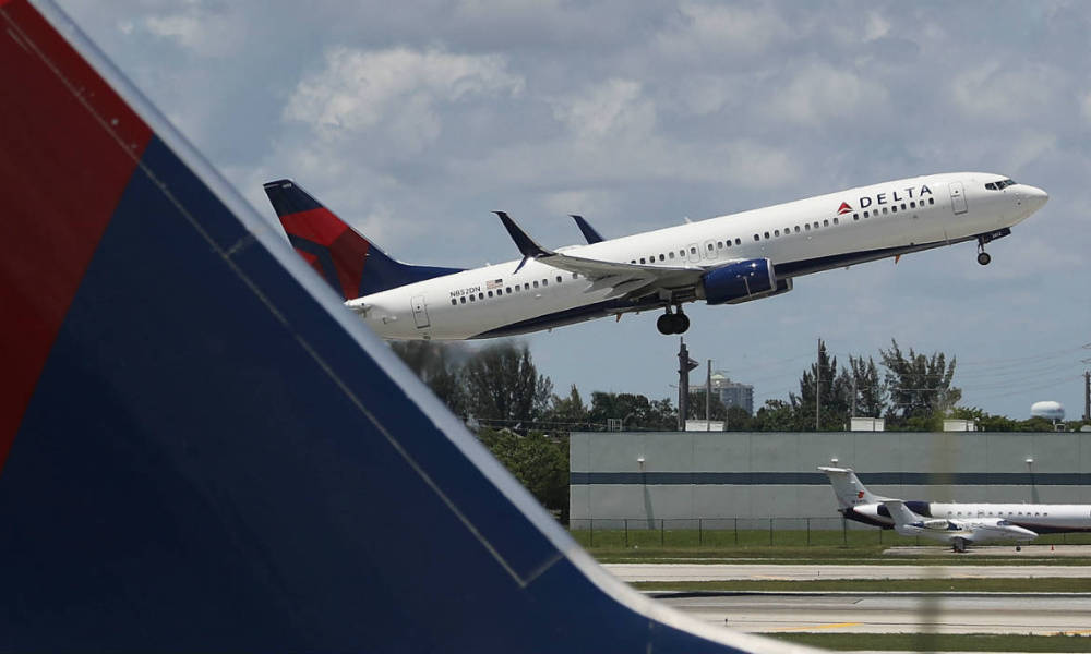 Un avion de la compagnie Delta Airlines (photo d'illustration)