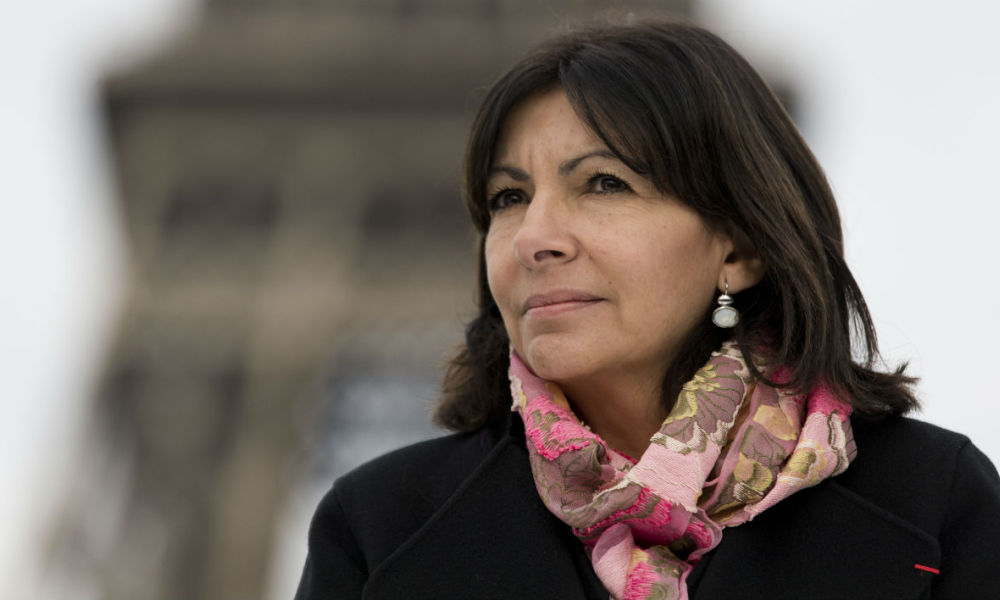 Anne Hidalgo, Paris, maire de Paris