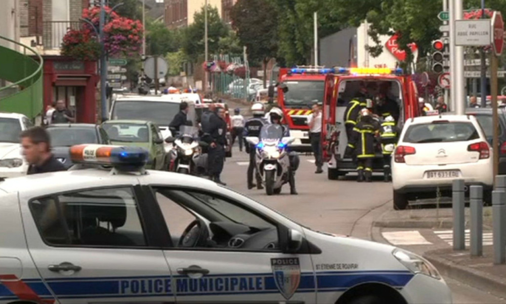 Hostage situation in Saint-Etienne-du-Rouvray