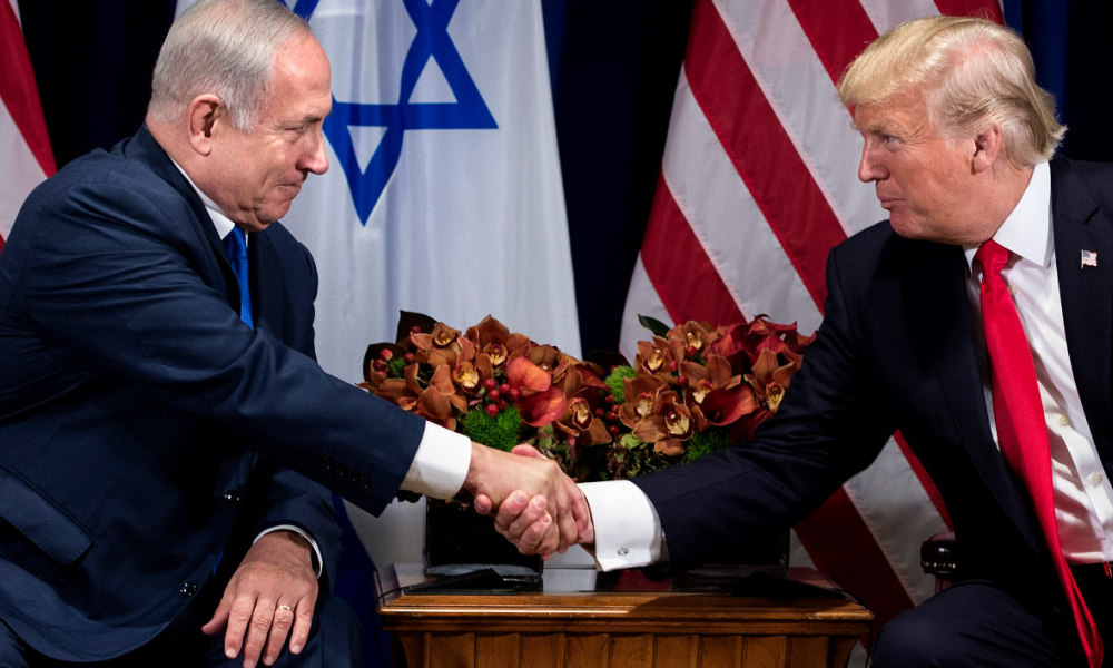 Benjamin Netanyahu et Donald Trump, le 18 septembre 2017 à New York.
