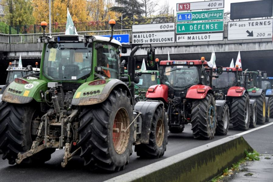 Image result for tractor manifestation in paris