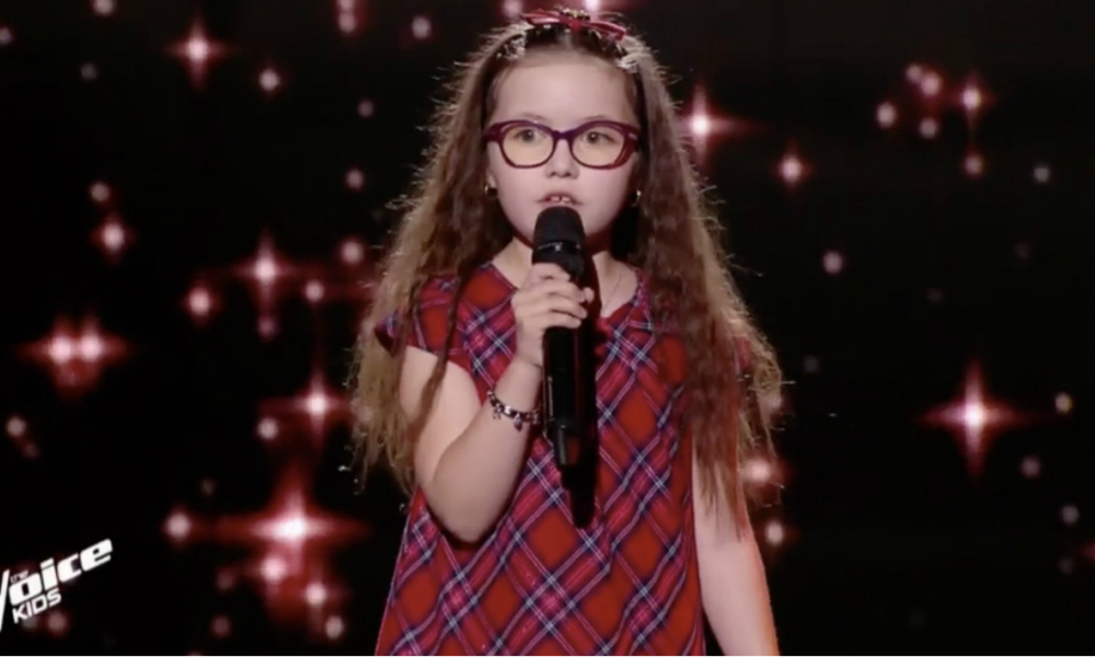 Emma dans The Voice Kids