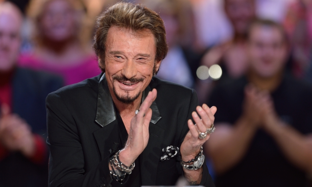 Johnny Hallyday le 19 novembre 2012 à Paris