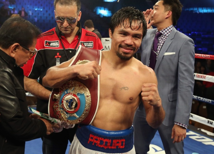 Pacquiao, plus gros contribuable des Philippines