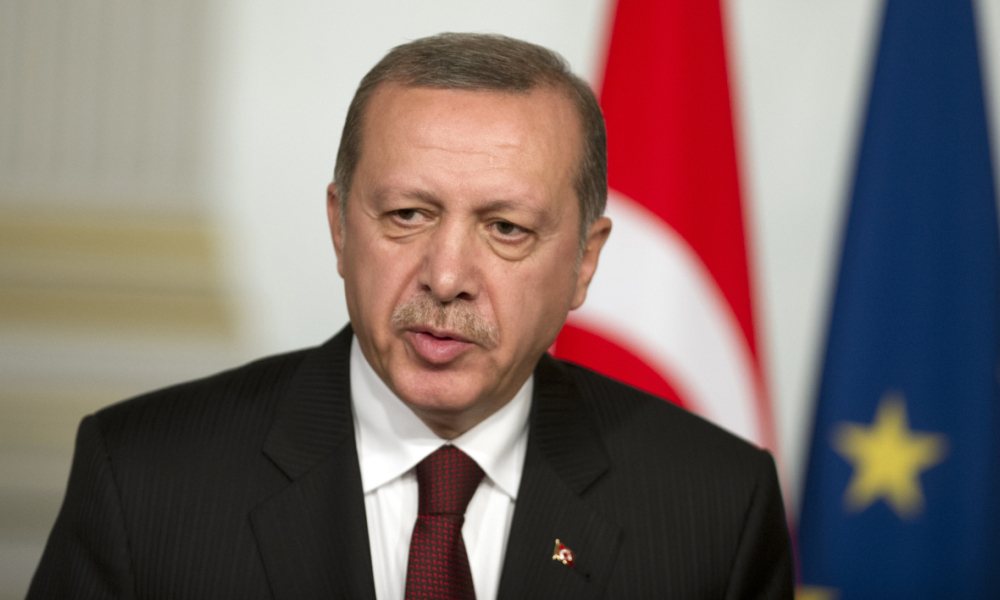 Recep Teyyip Erdogan à l'Elysée, le 31 octobre 2014 - Photo d'illustration