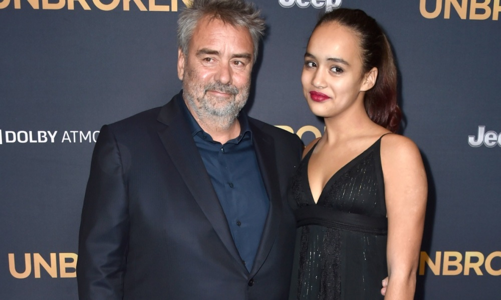 Luc Besson et sa fille à Hollywood